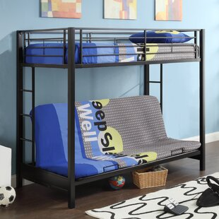 sunrise twin bunk bed futon bunk bed  u2013 shop bunk beds with futons  rh   wayfair