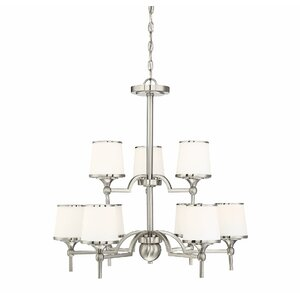Camacho 9-Light Shaded Chandelier
