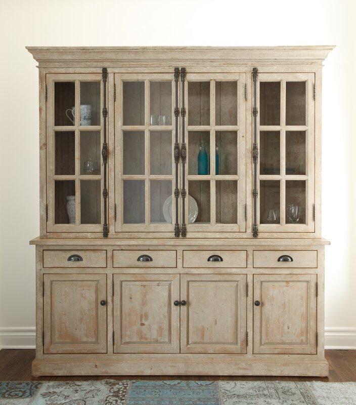 White Display Cabinets You'll Love | Wayfair