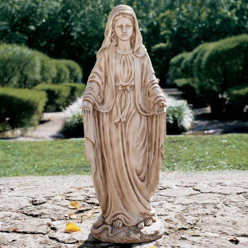 Marvelous Madonna Blessed Mother Garden Statue
