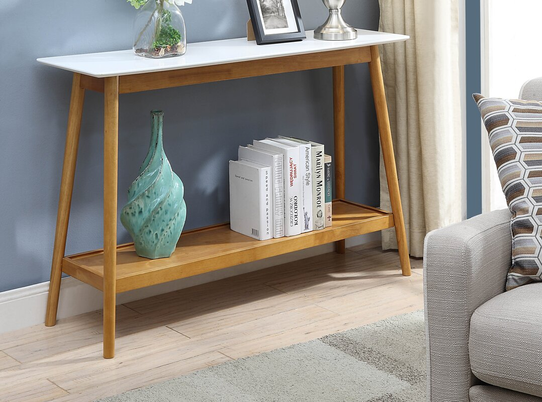 Modern contemporary console sofa tables youll love wayfair geotapseo Image collections