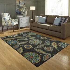 Nova Dark Green/Blue Area Rug
