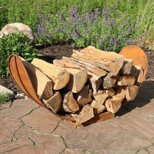 Ramiro Rustic Firewood Log Rack