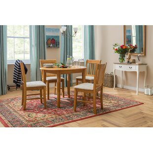 Dining Room Table Chairs. Lincklaen Extendable Dining Set with 4 Chairs Table Sets  Kitchen Wayfair co uk