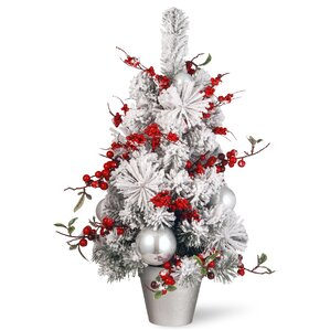 red christmas trees youll love wayfair - Red Artificial Christmas Tree