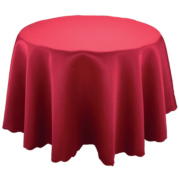 Delicieux Sadie Red Round Table Cloth