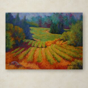 6653bd62098  Vineyard 2  Painting Print on Wrapped Canvas
