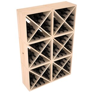 Karnes Pine X-Cube 144 Bottle Floor Wine Rack