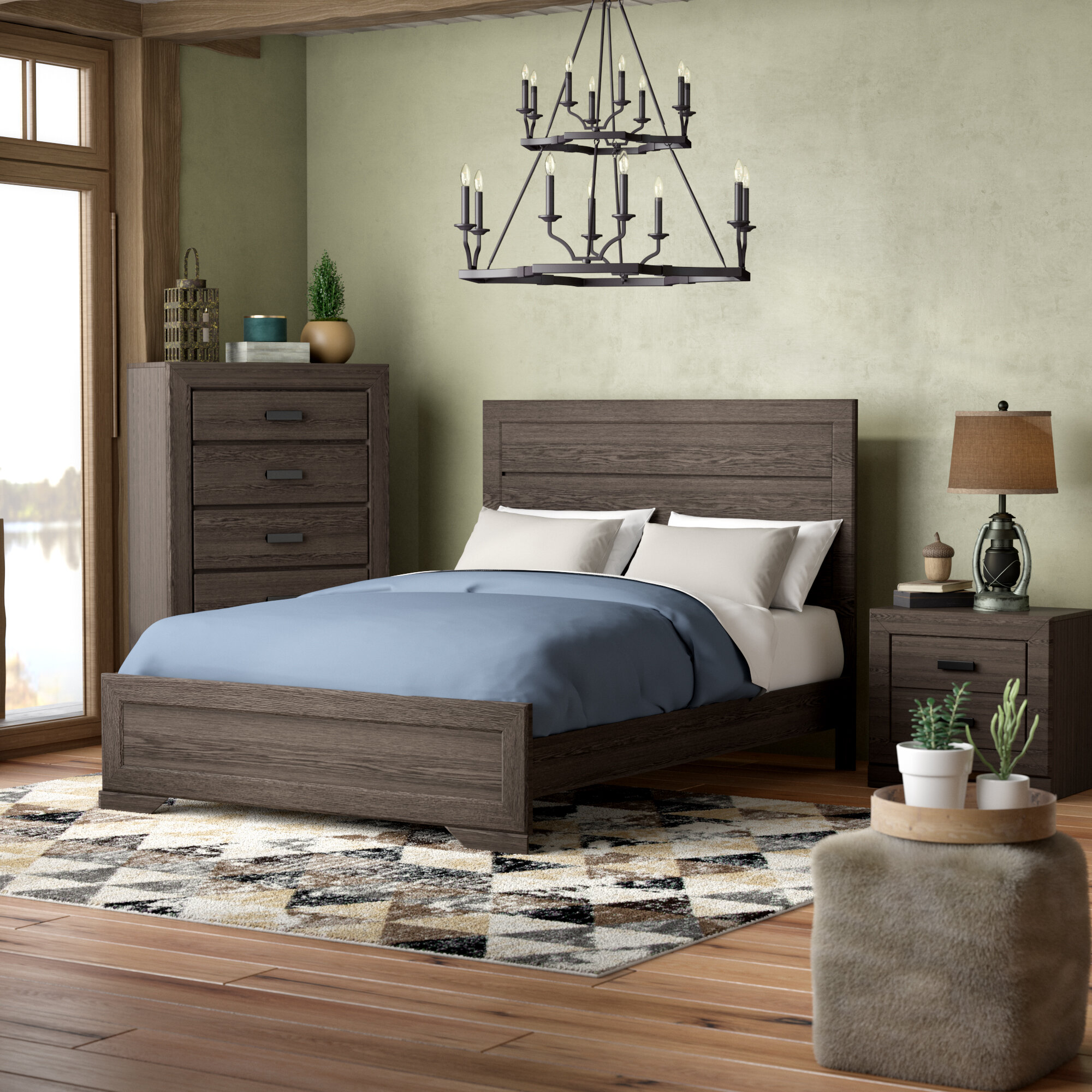 Union Rustic Raven Platform Configurable Bedroom Set U0026 Reviews | Wayfair