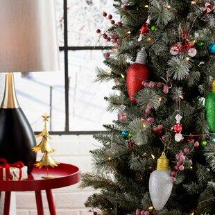 light bulb ornament set of 3