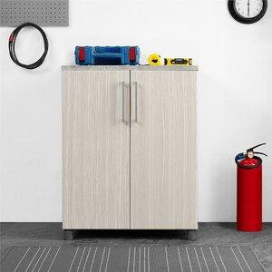 SystemBuild Latitude 2 Door Base 35.51u201d H x 27.68u201d W x 19.69u201d D Storage Cabinet