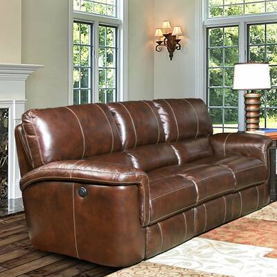 Darby Home Co Battista Premium Leather Loveseat | Wayfair