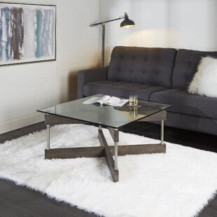 Black Glass Coffee Tables You\'ll Love | Wayfair
