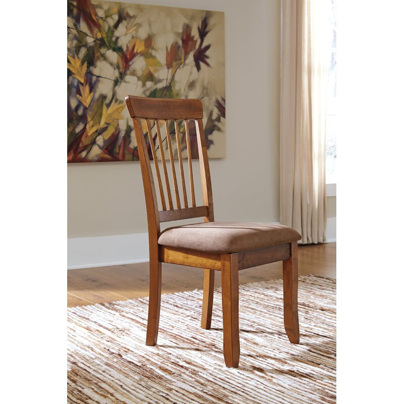 8828fb80a854 Bay Isle Home Solange Upholstered Dining Chair   Reviews
