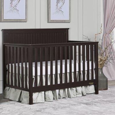 Alexa 5-in-1 Convertible Crib Dream On Me Color: Mocha