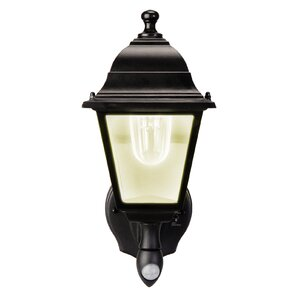 Battery Powered Motion Activated 1 Light Outdoor Sconce