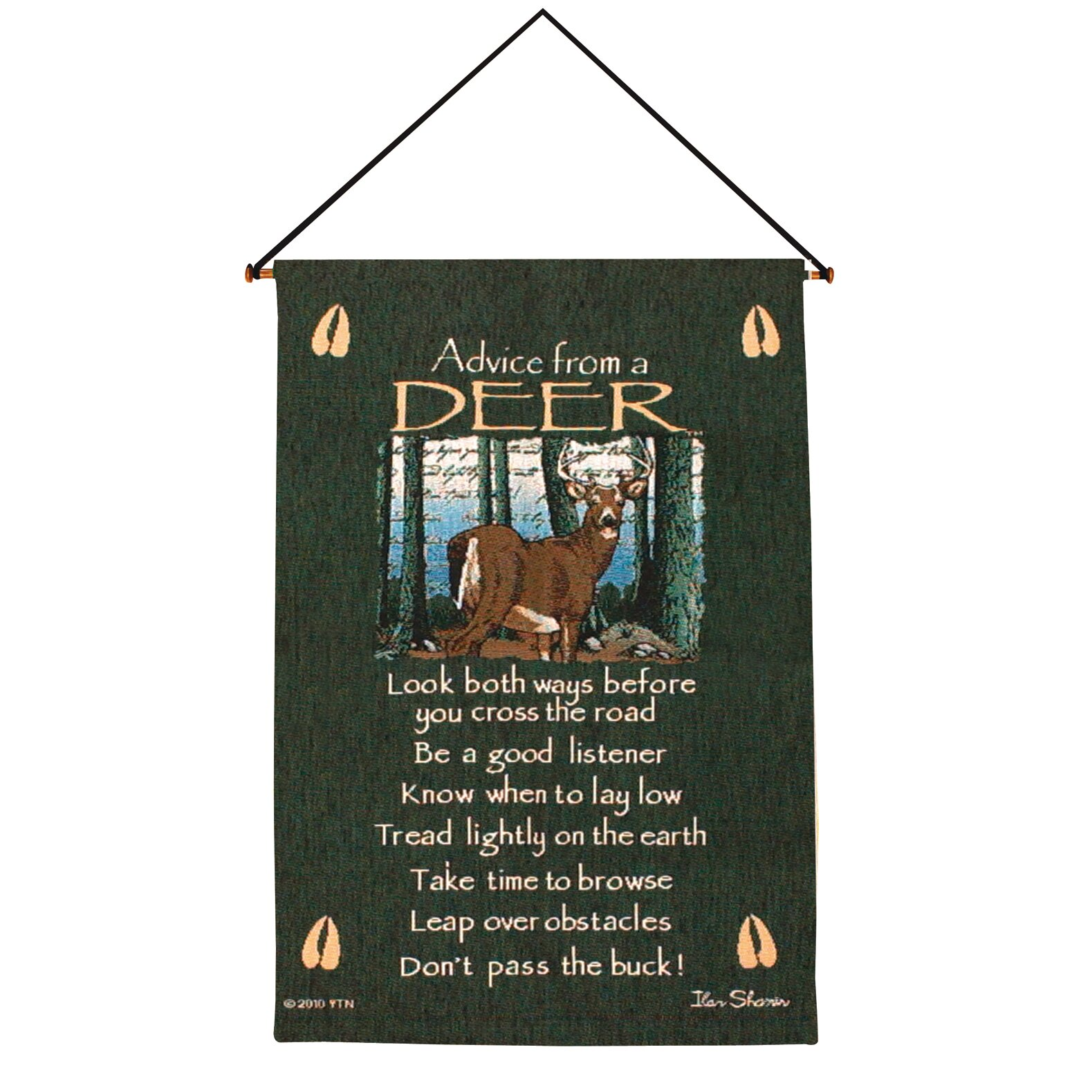 Manual Woodworkers & Weavers Advice from a Deer Tapestry ...