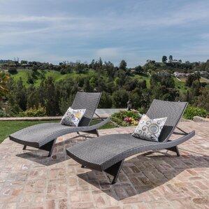 jett wicker chaise lounge set of 2