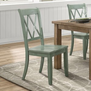 wood kitchen & dining chairs you'll love | wayfair