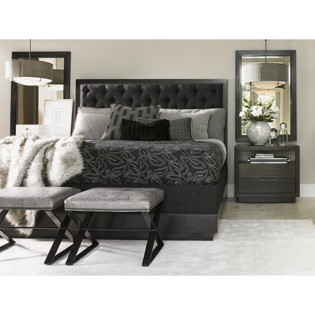 Lexington Carrera Bedroom Platform Customizable Bedroom
