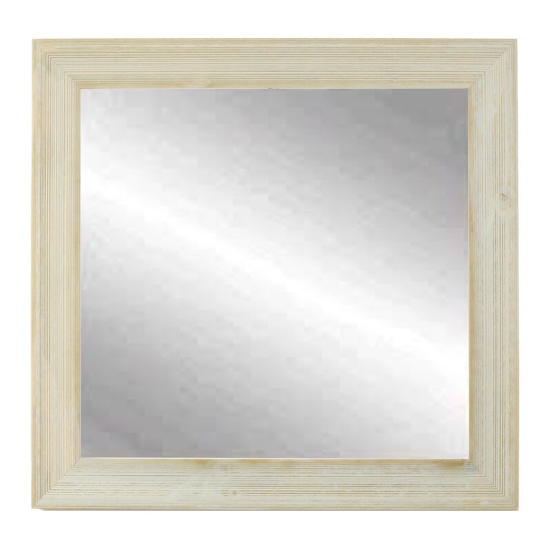Bathroom Mirrors Wayfair August Grove Lison Distressed Mirror