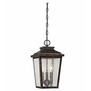 Kayla 3 Light Outdoor Hanging Lantern
