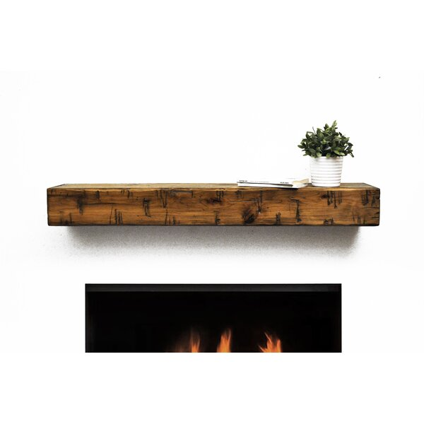 - Dogberry Collections Rustic Fireplace Mantel Shelf & Reviews Wayfair