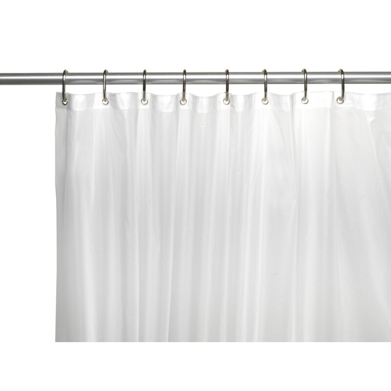 Ben and Jonah PEVA 6 Gauge Shower Curtain Liner | Wayfair