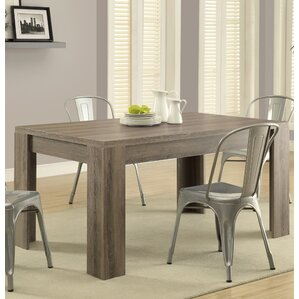 Bleecker Wood Dining Table by Ivy Bronx