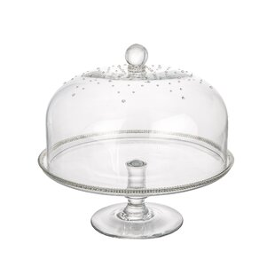 Glass Dome Cake Stand  sc 1 st  Wayfair : cake plate with dome cover - pezcame.com