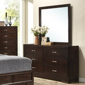 Tahoe 6 Drawer Dresser with Mirror by Wildon Home ?