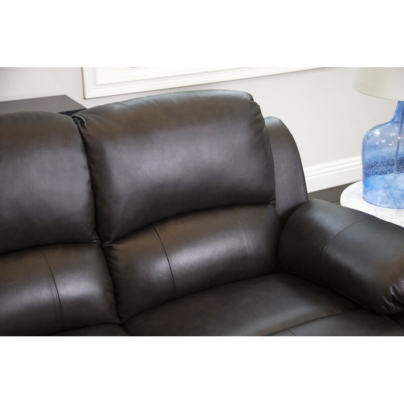Blackmoor Genuine Leather Reclining Sofa