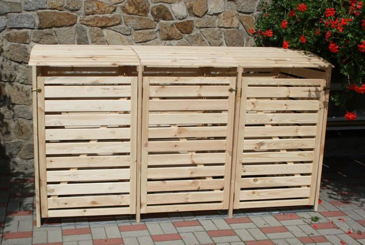 Image result for wooden bin storage