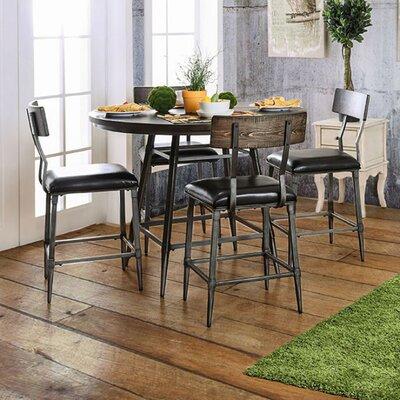 narrow counter height table wayfair. Black Bedroom Furniture Sets. Home Design Ideas