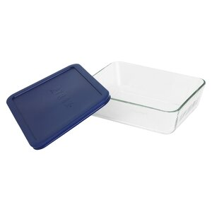Storage 6-Cup Rectangular Dish with Cover