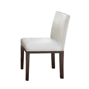 Genuine Leather Upholstered Dining Chair (Set Of 2) Part 49