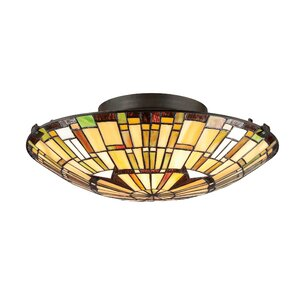 Zazueta 2-Light Flush Mount