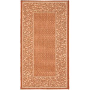 Octavius Terracotta/Natural Outdoor Rug