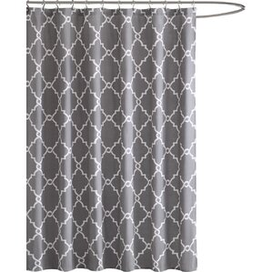 brown and gray shower curtain. Somerset Shower Curtain Gray  Silver Curtains You ll Love Wayfair