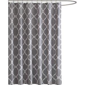 Gray & Silver Shower Curtains You\'ll Love | Wayfair