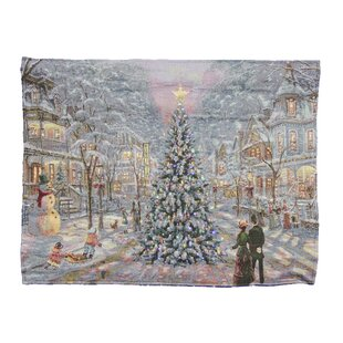 fibre optic victorian tree tapestry
