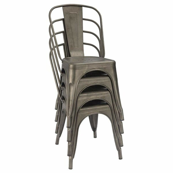 ae5726039673 Carlisle Metal Dining Chair | Wayfair