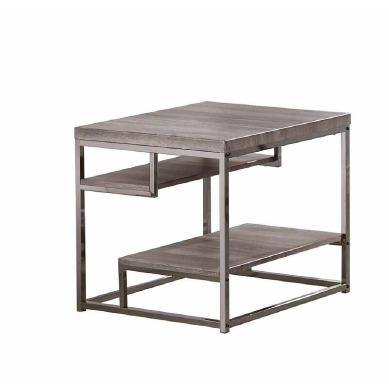Merveilleux Chatfield 2 Shelves End Table