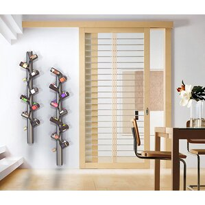 Belteau 10 Bottle Wall Mounted Wine Ra..