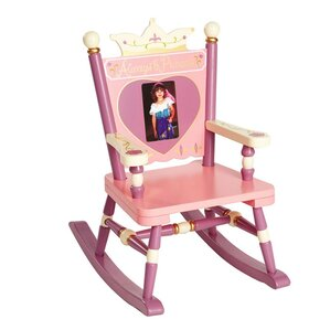 Amazing Wildkin Rock A Buddies, Jr. Princess Mini Kids Rocking Chair
