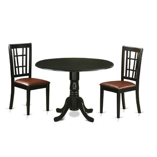 Spruill 3 Piece Extendable Dining Set New