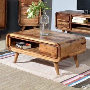 Oslo Solid Indian Rosewood Coffee Table by Porter International Designs