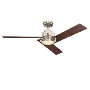 Plug in ceiling fan wayfair 54 skyplug daelyn 3 blade ceiling fan with remote aloadofball Gallery