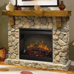 Field Stone Fireplace dimplex fieldstone electric fireplace & reviews | wayfair