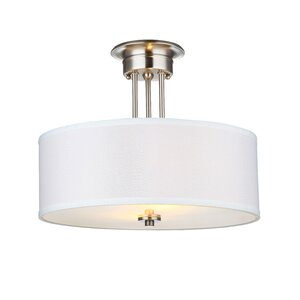 Neiman 2-Light Semi Flush Mount